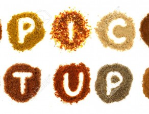 12892972-Assorted-spices-spelling-the-word-spice-it-up-isolated-on-a-white-background-Stock-Photo
